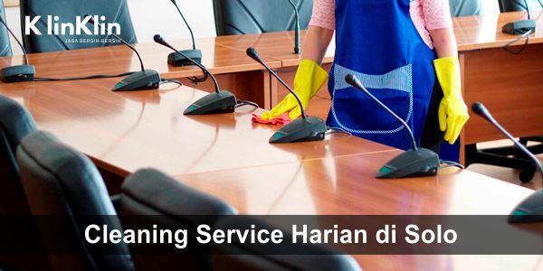 Jasa Cleaning Service Harian di Solo dan Sekitarnya