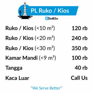 JOG Cleaning Service Ruko / Kios
